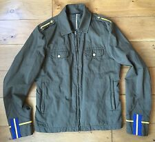 Daniele Alessandrini mens lightweight military-style jacket, size EU48 UK38