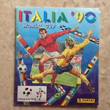 Panini 1990 Italy World Cup 100% Original & Complete Album VG/Ex Condition