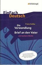 EinFach Deutsch Textausgaben von Franz Kafka (2013, Taschenbuch)