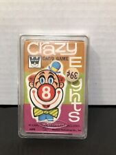 Whitman 1951 Crazy Eights Factory Wrapping And Hard Plastic Cover