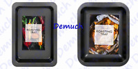 New NON STICK ROASTING TRAY Dishwasher Safe Strong Carbon Steel Oven UK Seller ✔