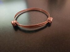 Elephant hair bracelet made from copper