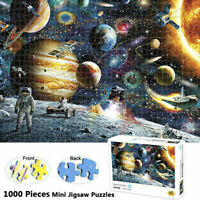 Space Stars Jigsaw 1000 Pieces Scenery Puzzle Kids Adult Educational Toys Game