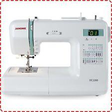 Janome DC2200 Computerised Sewing Machine NEW Quilting Dressmaking hem STOCKTAKE