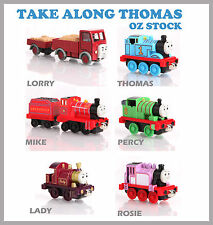 6 SET THOMAS AND FRIENDS THOMAS THE TANK ENGINE ROSIE MIKE PERCY LORRY THOMAS