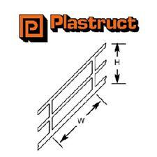 Paquete De 2 SRS4 1:100 (escalera Riel Plastruct OO/HO)