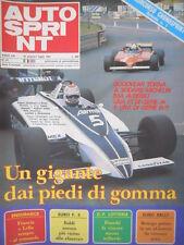 Autosprint 27 1981 Foto poster Talbot Lieger - Laffite. Immagini GP Spagna sc.5