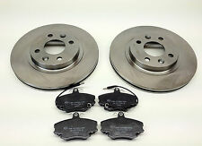 RENAULT CLIO MK2 1.5 DCi FRONT BRAKE DISCS AND PADS 01-05
