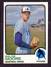 1973 TOPPS  # 211 BALOR MOORE EXPOS NM-