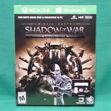 Middle-earth: Shadow of War Steelbook Gold Edition (Digital Code) Xbox One & PC