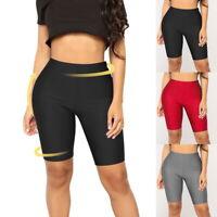 Femmes Short Yoga  Workout  Sport Gym Shorts De Course Skinny Pantalon