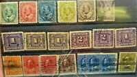 Canada Stamp Lot Faults May Be Present Great Cancels    ST12