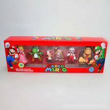 Nuevo Nintendo Super Mario Mini Figuras Box Set 6 un. - Series 3 (5cm)