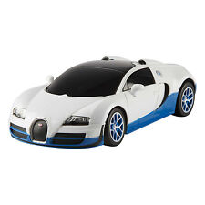 Rastar 1/24 Scale White Bugatti Veyron 16.4 Grand Sport Vitesse Licensed RC Mod