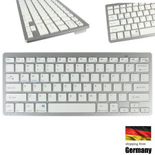 Slim Bluetooth Tastatur Wireless für iPhone iPad Apple Mac Laptop PC