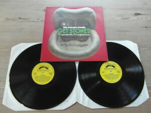 THE ROLLING STONES-GET STONED-SUPERB AUDIO-ADE P32- Nr MINT EX DOUBLE ALBUM 1977