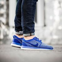 NIKE ROSHE TWO FLYKNIT Running Trainers Shoes Gym Casual - UK 9 (EUR 44) Blue