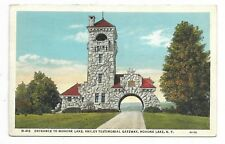 MOHONK LAKE NY Entrance to Mohonk Lake, Smiley Testimonial Gateway, Circa 1941
