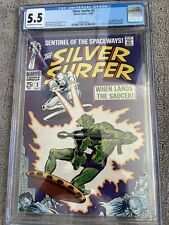 Silver Surfer #2. 1968. First Badoon. CGC 5.5. FN-  OW/W pages!