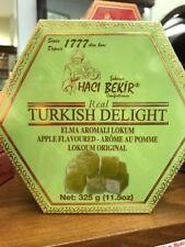 HACIBEKIR Oldest Company, Turkish Delight APPLE Flavoured   325g