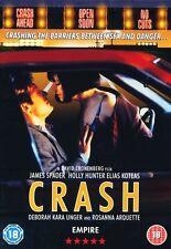 Crash DVD 1997 James Spader Holly Hunter New Sealed Original UK Release R2