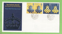 G.B. 1990 The Queens Awards on Royal Mail First Day Cover, House of Commons