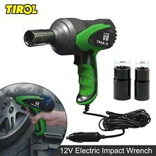 "TIROL 1/2"" 12V Electric Impact Wrench Portable Tire Installation Wrench 80W E5C2"