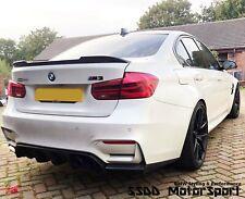 BMW F30 F80 M3 CS Style Carbon Fibre Boot Lip Spoiler Next Day UK Postage