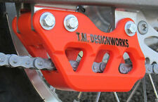 KTM 85 105cc REAR CHAIN GUIDE BLOCK TM DESIGNWORKS SOLID BODY ORANGE RCG- KT85