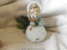 """Vintage Snow Girl Bell Semco"""" So Cute """" * As Is *"""