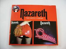 NAZARETH - THE CATCH / CINEMA - 2CD LIKE NEW CONDITION 2011 DIGIPACK