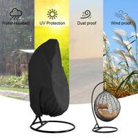 Extérieur OEUF Chaise Housse Jardin Terrasse Rotin extérieur pluie Protection UV