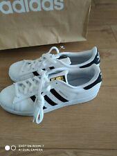Adidas Originals Para Hombre Superstar Zapatillas Zapatos Estilo Retro UK 11.5, EE. UU. 12
