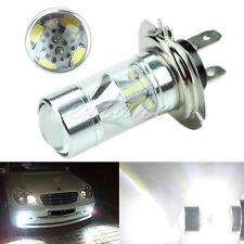 Super White H7 60W 6000K Samsung 2323 LED Fog Light 12-SMD Driving Bulbs 12V New