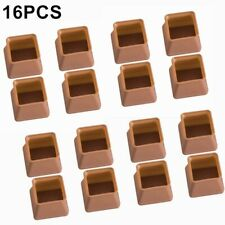 New listing 16* Silicone Chair Leg Cap Feet Cover Pad Furniture Floor Protector 3.7*3.7*3cm