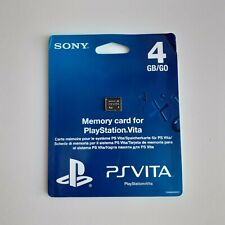 Official Sony PlayStation PS Vita Memory Card 4GB ovp sealed