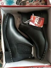 CHELSEA ANKLE BOOTS  XTI FLAT STUDDED size 7 EUR 40