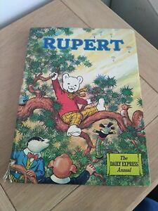 RUPERT BEAR  BOOK 1973 The Daily Express Annual