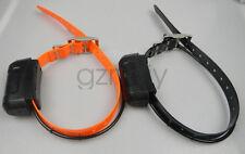 2*GARMIN DC40 GPS dog collar for ASTRO220/320 (Black & Orange strap)EUR Version