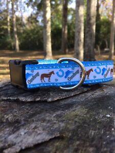 Cowboy, Horse Dog Collar, FREE SHIPPING