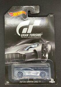 Hot Wheels - Gran Turismo - Aston Martin One-77 - Long card - New