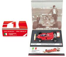 Brumm S1701 Ferrari 312 T5 Presentazione Fiorano 1980 - 1/43 Scale