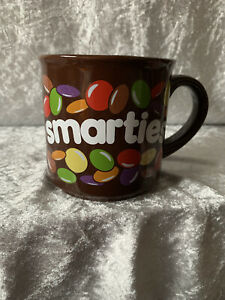 Smarties Coffee mug - VGC - Brown - Vintage/Retro