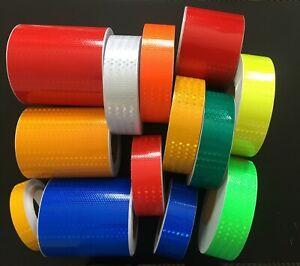 Reflective Tape High Intensity High Viz Self adhesive Vinyl Any Colour UK SELLER