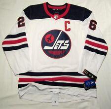 BLAKE WHEELER size 52 = size Large - Winnipeg Jets Adidas Heritage NHL Jersey