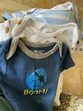 Boy Baby Infant My Little Star & Sweet and Soft Cotton t shirts 6/9 months lot