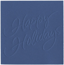 QuicKutz Goosebumpz Embossing Die - Happy Holidays