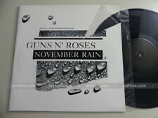 """GUNS N' ROSES november rain / Special limited edition etched disc ~ UK Maxi 12"""""""