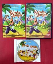 Saludos amigos DVD - Walt Disney - USADO - MUY BUEN ESTADO