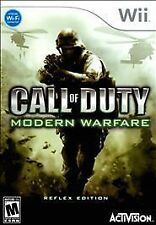 Nintendo Wii : Call of Duty: Modern Warfare: Reflex VideoGames - Excellent cond.